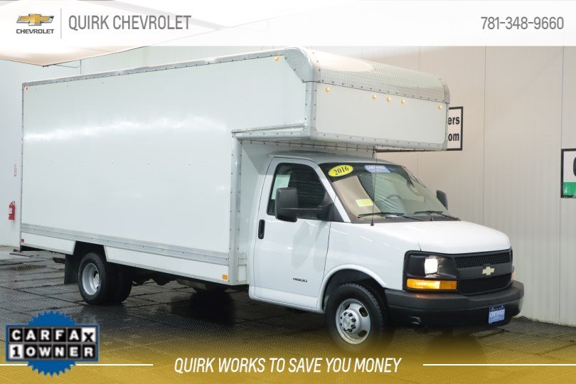 Certified Pre-Owned 2016 Chevrolet Express Commercial Cutaway UNKNOWN