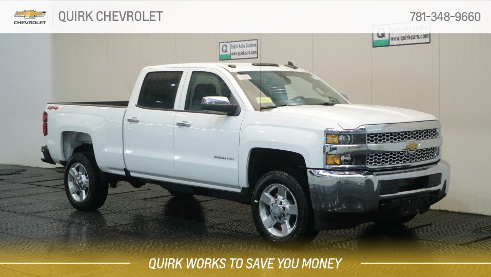 New 2019 Chevrolet Silverado 2500hd Work Truck 4wd Crew Cab