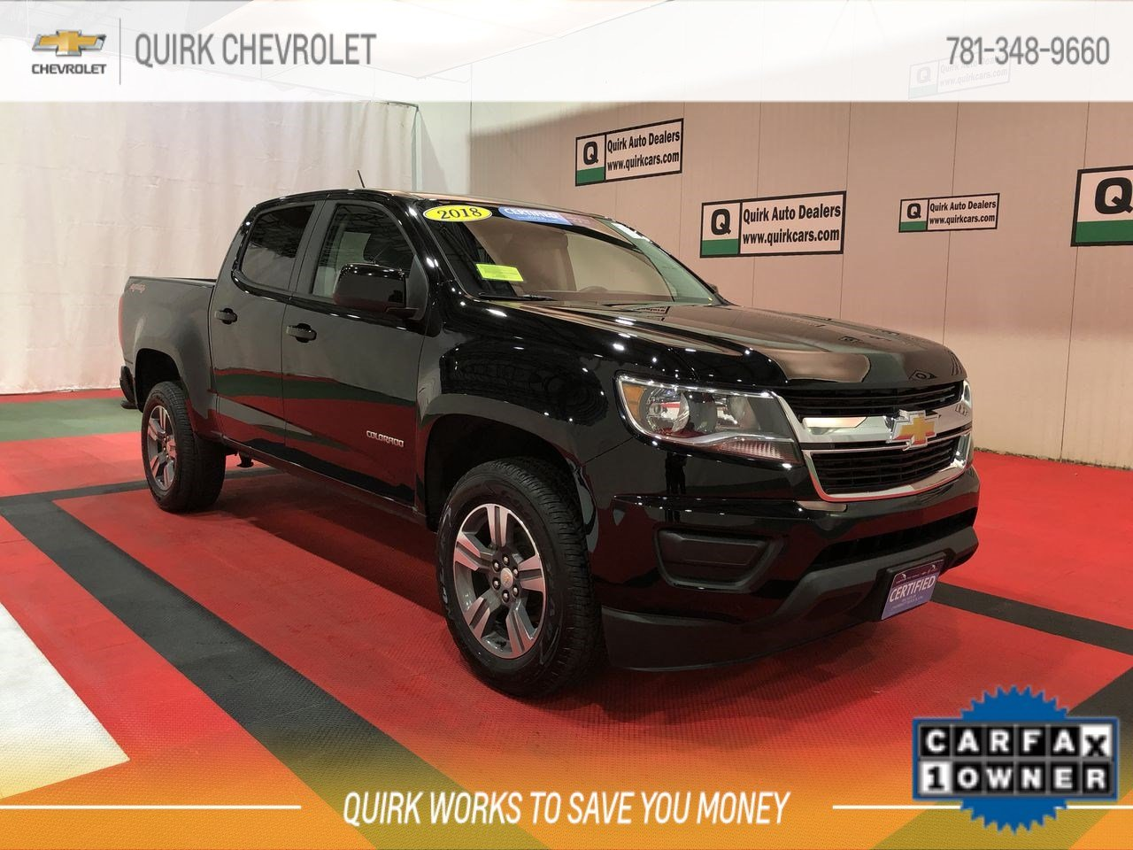 Certified Pre-Owned 2018 Chevrolet Colorado 4WD Work Truck