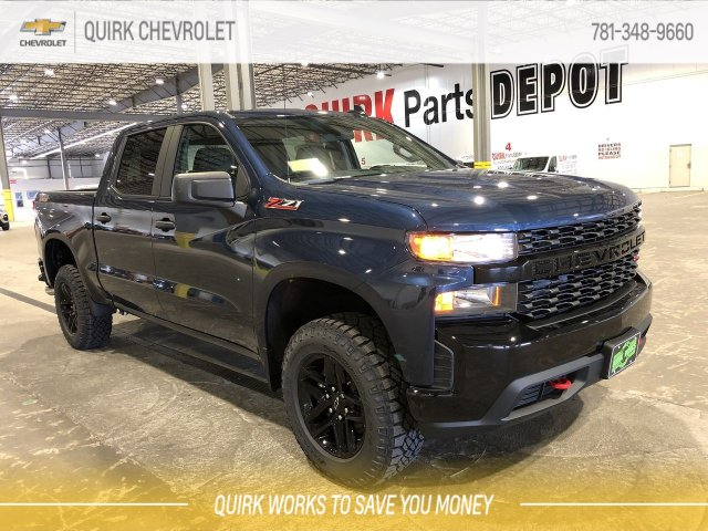 New 2019 Chevrolet Silverado 1500 Custom Trail Boss 4wd Crew Cab Pickup