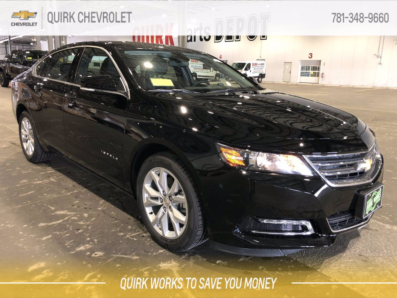 New 2020 Chevrolet Impala Lt 4dr Car In Braintree C67860 Quirk