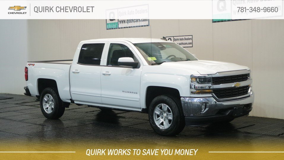 2018 Chevrolet Silverado 1500 4X4 V8 Crew Cab LT All-Star, w/ Navigation