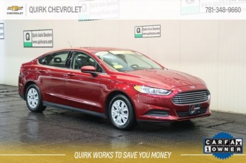 Certified Pre-Owned 2014 Ford Fusion S