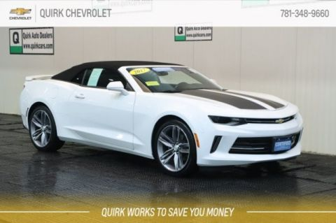 Certified Pre-Owned 2017 Chevrolet Camaro LT RS