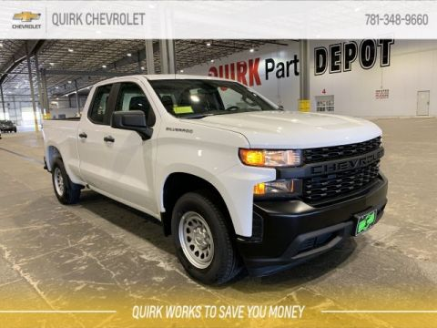 New Chevrolet Silverado 1500 in Braintree | Quirk Chevrolet